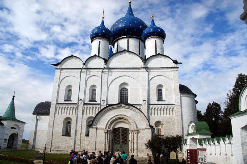 2013-09 _Белокаменные храмы - Рождества Богородицы (Суздаль) 1225 г