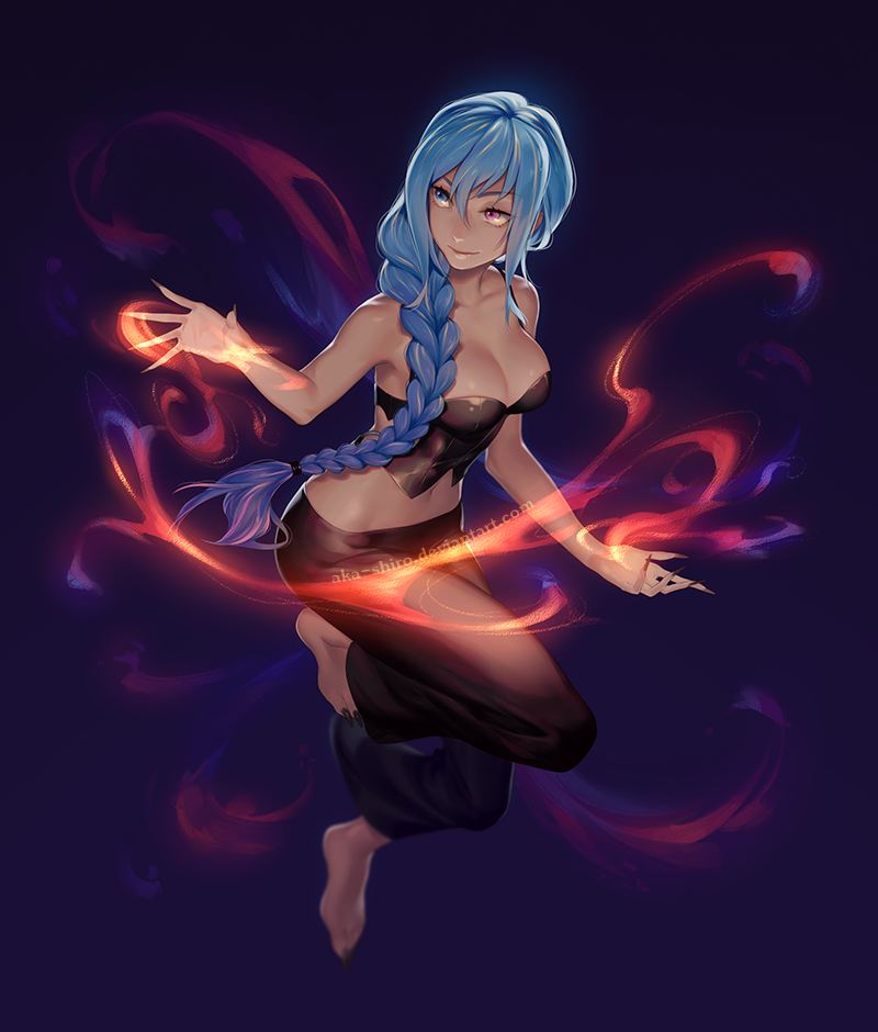 Astonishing Anime Illustrations by Aka-Shiro