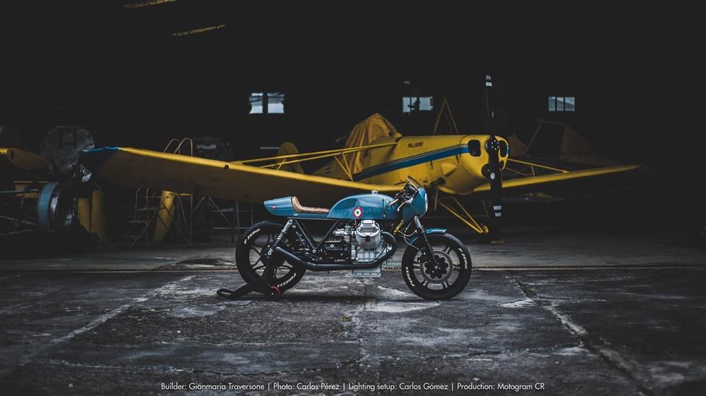 GMT Atelier: кафе рейсер Moto Guzzi Le Mans