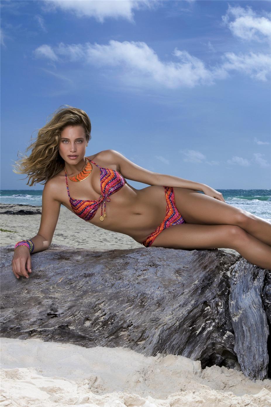 Hannah Davis / Ханна Дэвис в купальниках Luli Fama swimwear, весна-лето 2014