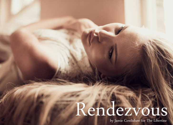 Rendezvous - Ksenija Selivanova / Ксения Селиванова в журнале The Libertine spring 2014 / фотограф Jamie Cowlishaw