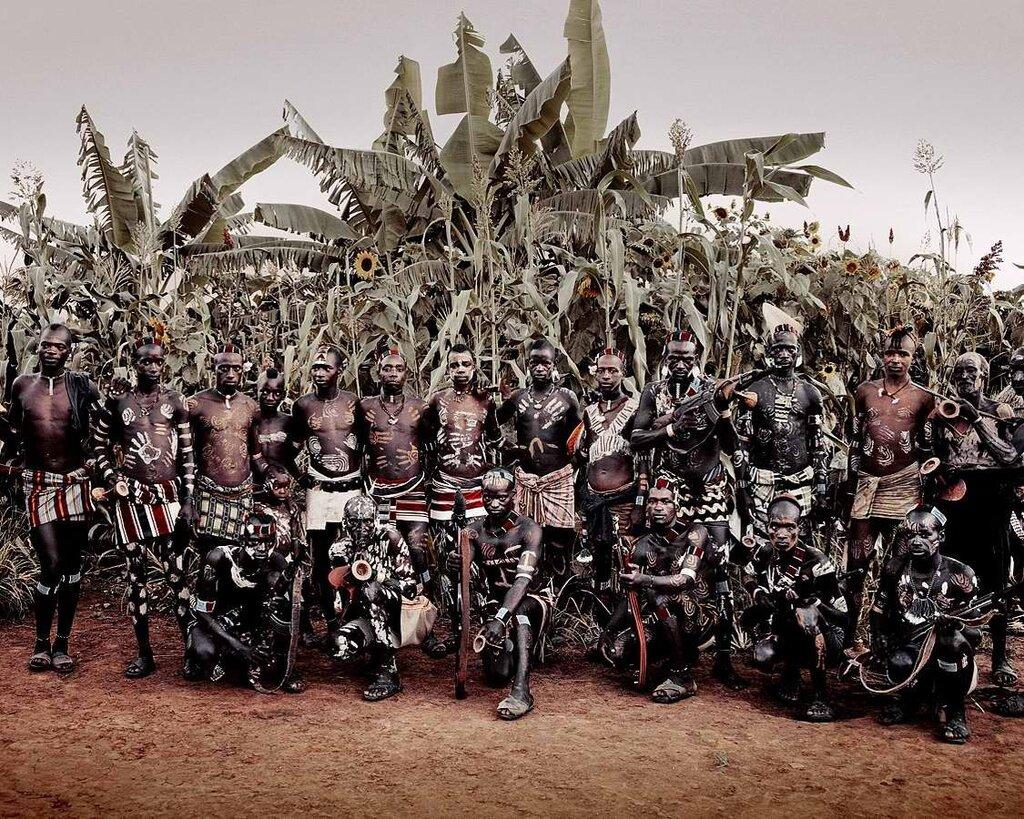Представители эфиопского племени банна (3)