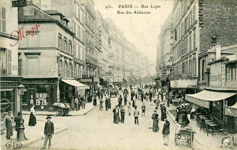 Ул Лепик, Париж