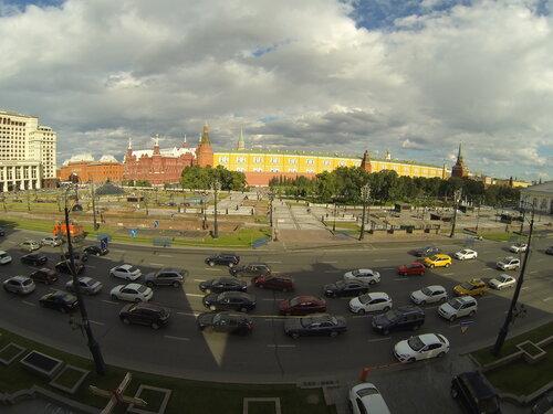 Кремль и Манежная площадь
