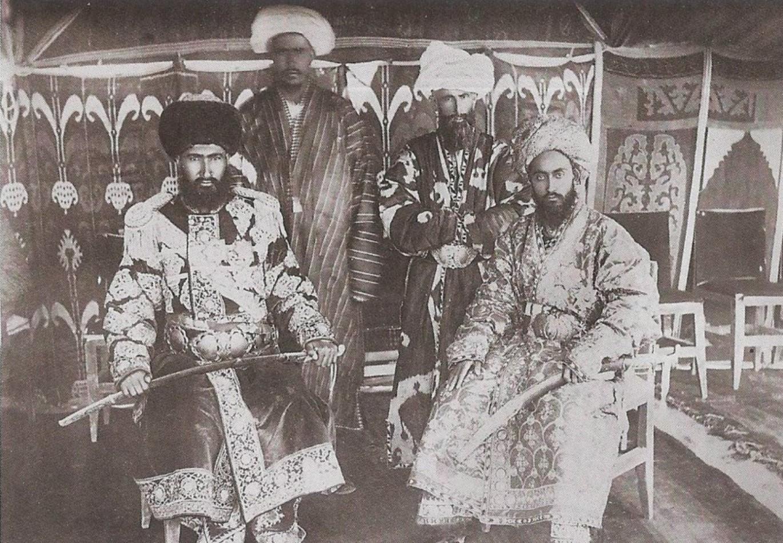 Главнокомандующий армии Бухарского эмира. 1916