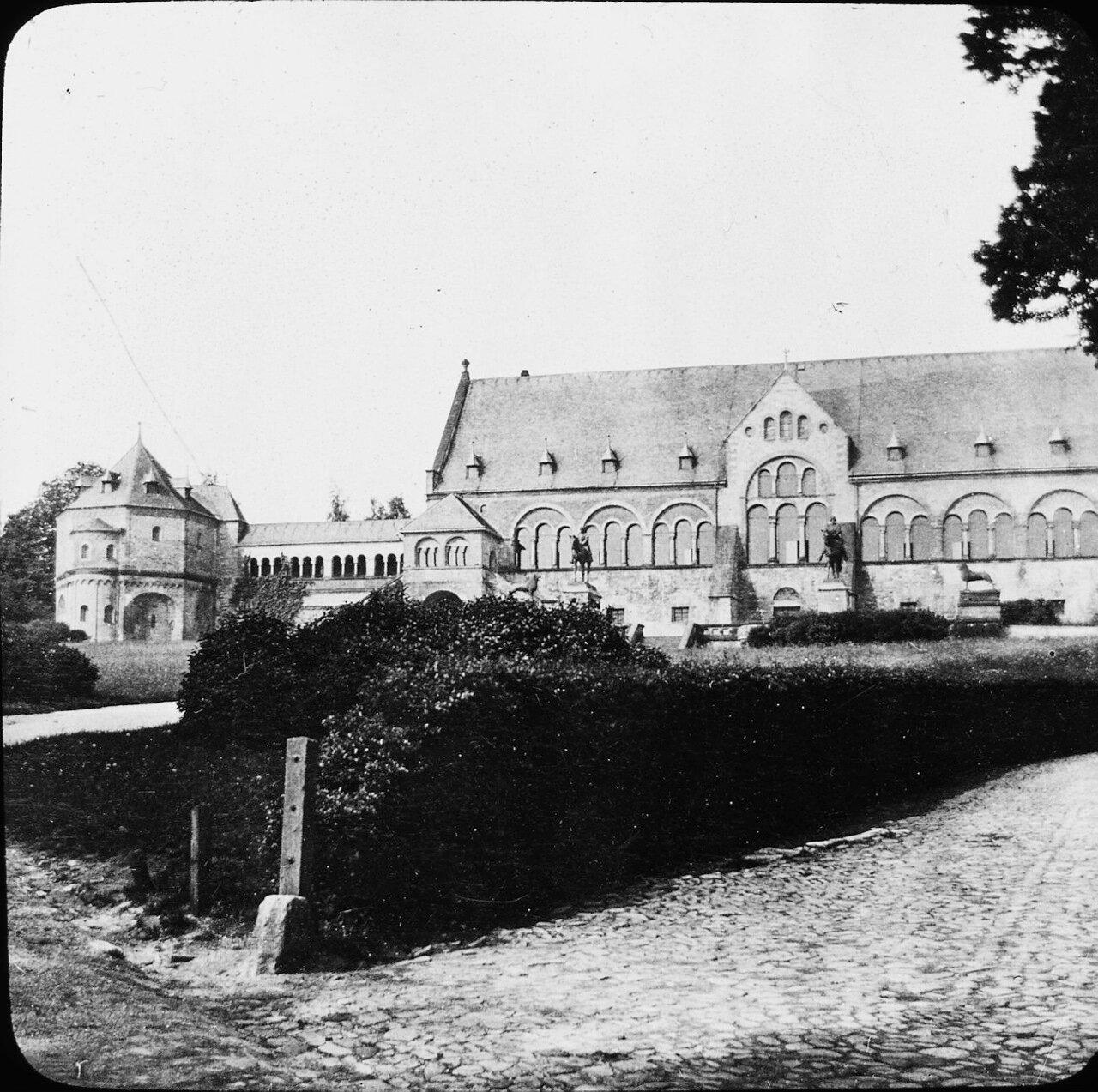 Гослар. Королевский дворец на Кайзерплац, 1907
