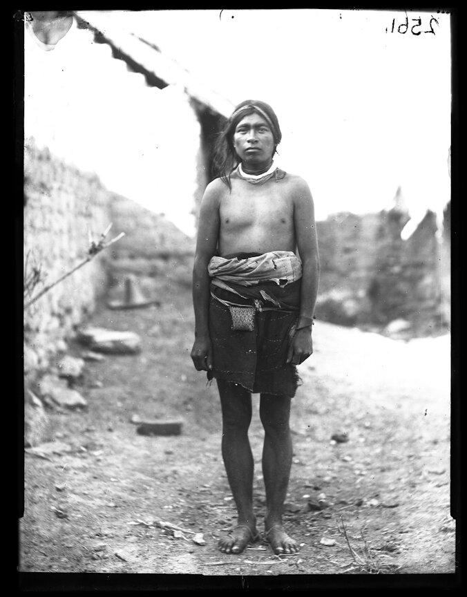 1898. Мужчина из племени Уичоли Франциско Антонио