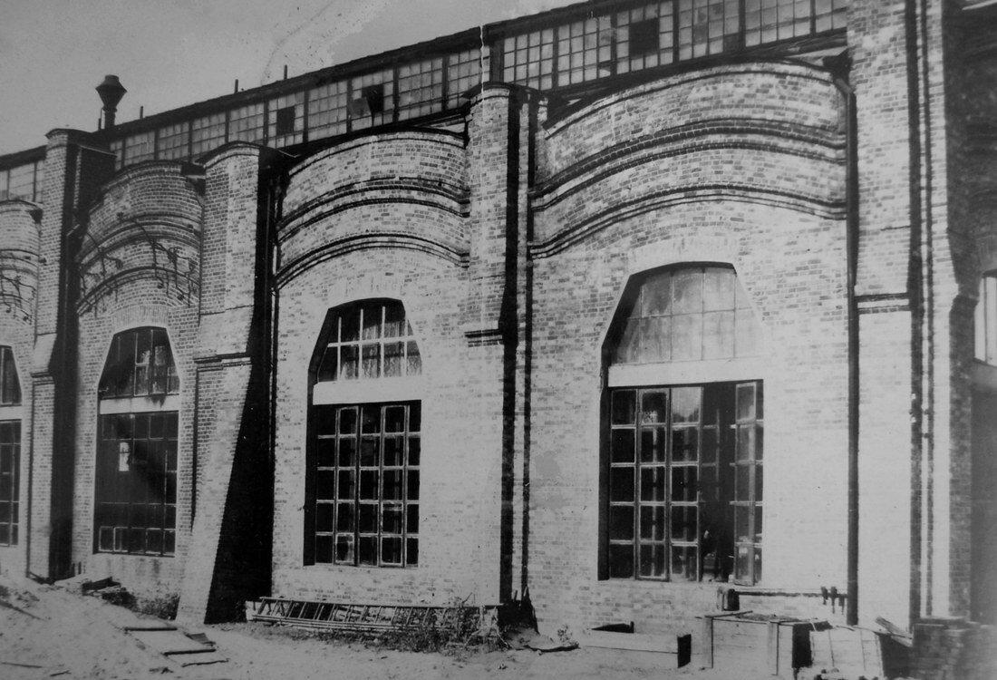 1914. Южная сторона здания котельной