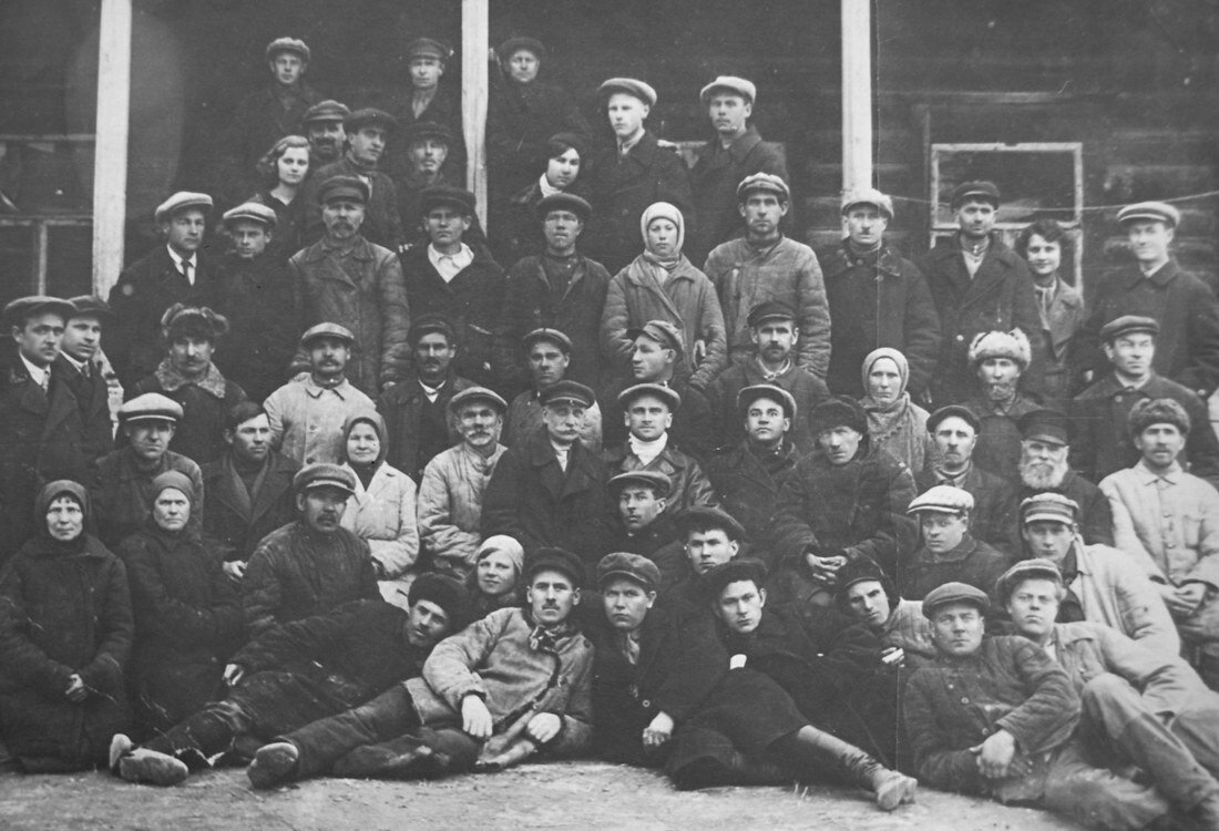 1925. Работники станции