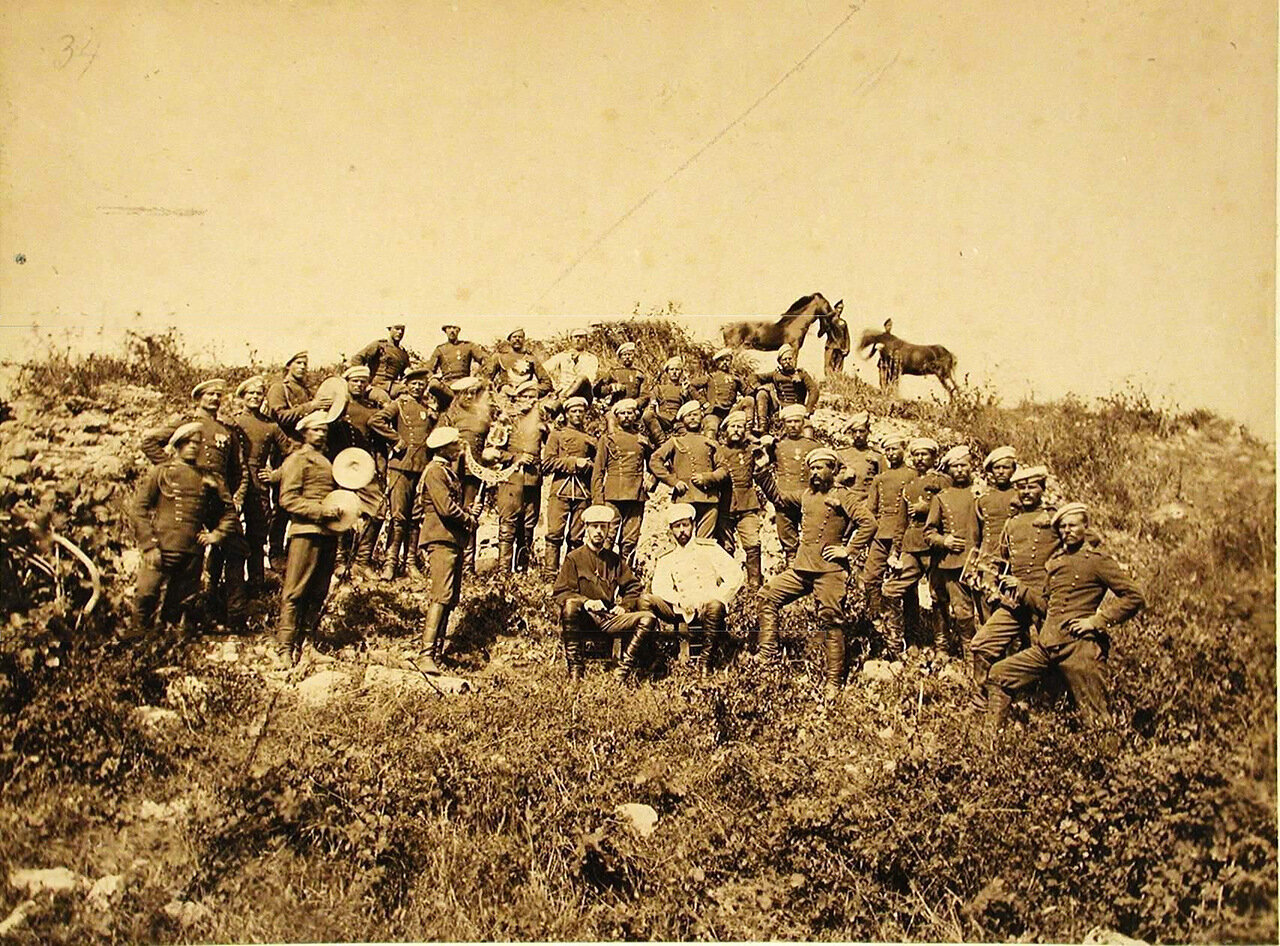 35. 4-й эскадрон Лейб-гвардии Уланского полка. Турция. Константинополь