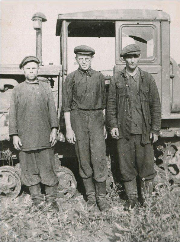 1950-е. Трактористы