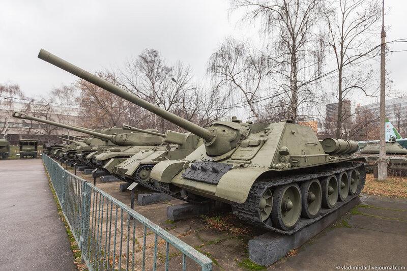 Самоходная-артиллерийская установка СУ-85