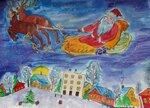 Силакова Кристина (рук. Лисейкина Рима Ивановна) - В канун Рождества
