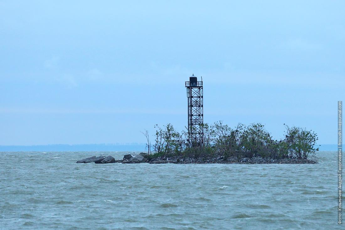 створный знак устье Дона Азовское море