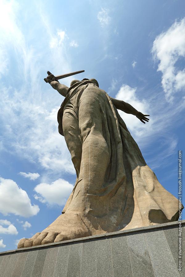 скульптура Родина-мать зовет Мамаев курган