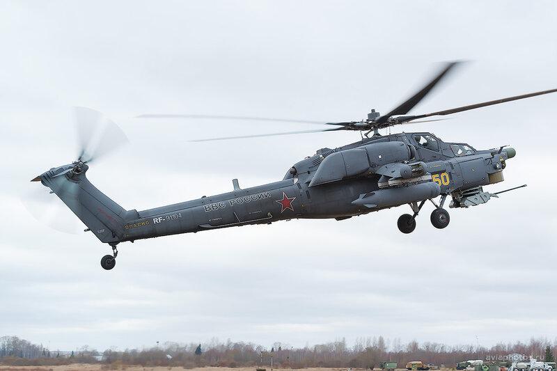 Миль Ми-28Н (RF-91104 / 50 жёлтый) D803988