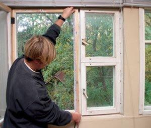 Ремонт дома — меняем старые окна на новые пластиковые