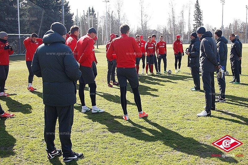 «Спартак» готовится к матчу с «Крыльями»