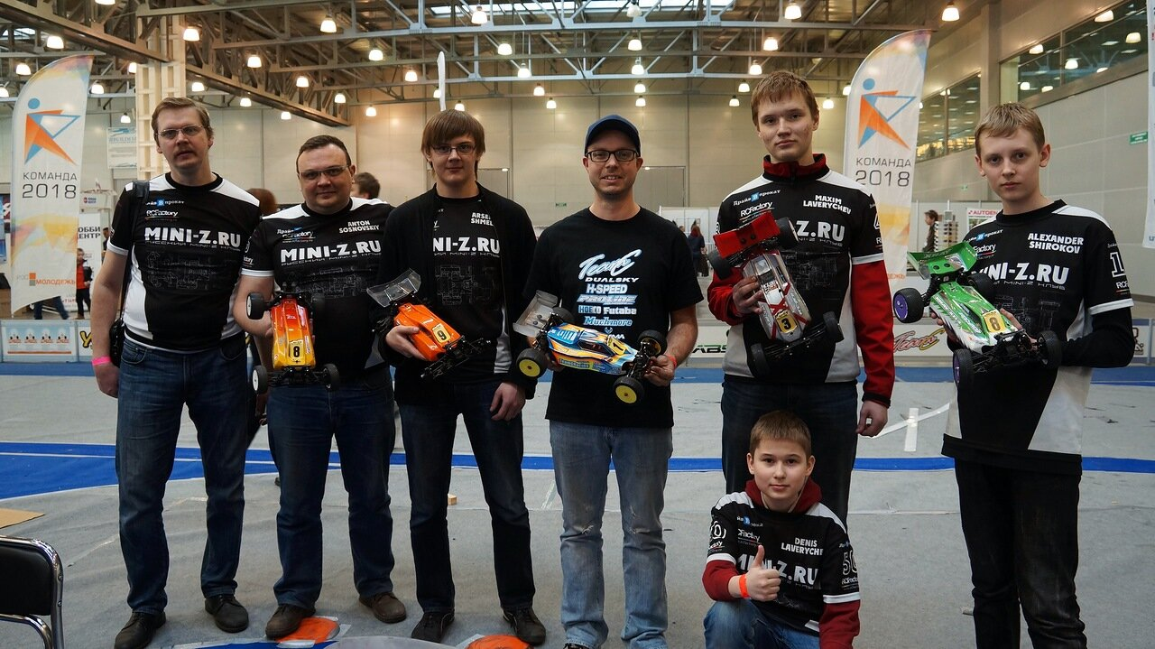 Russian Mini-Z Club and Hupo