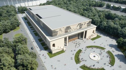 Лужниковский бассейн предстанет обновленным через три года