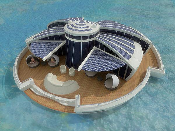 Плавучий остров - курорт