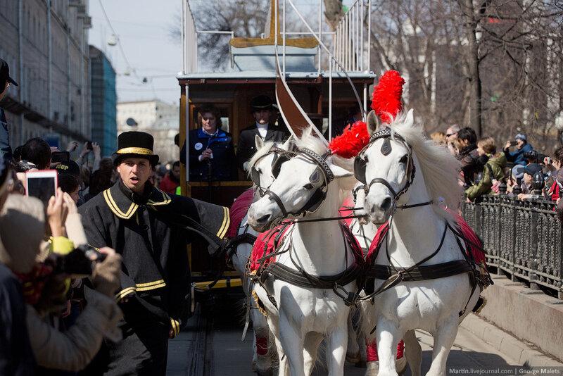Московский трамвай отмечает юбилей - 115 лет