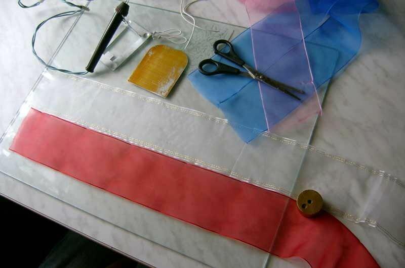 Как сшить красивый бант.  How to sew a beautiful bow.