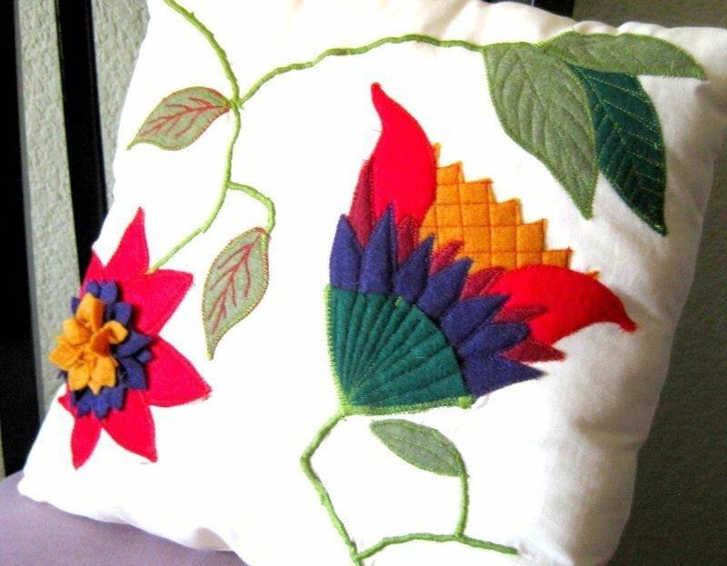 Цветы из ткани. Fabric flowers.