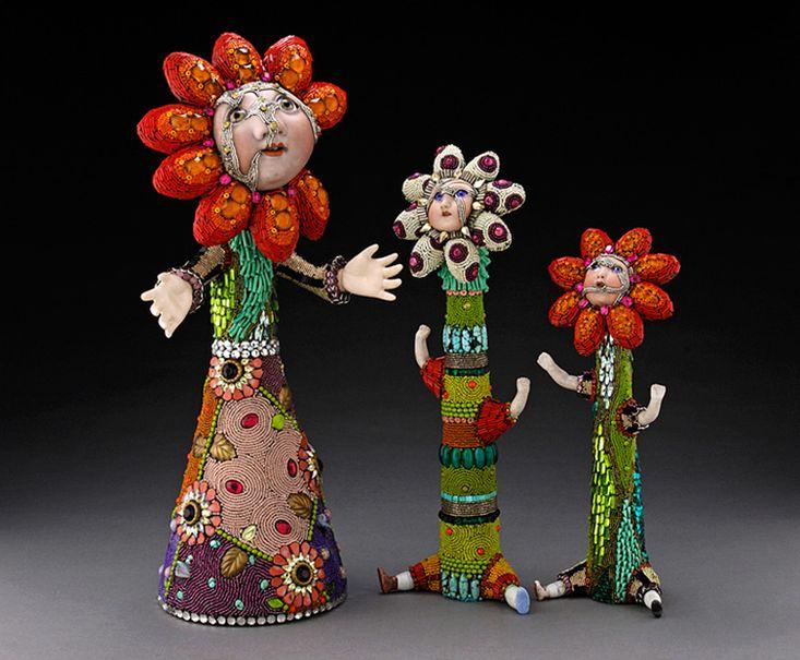 игрушки из бисера. Fancy Toy beads
