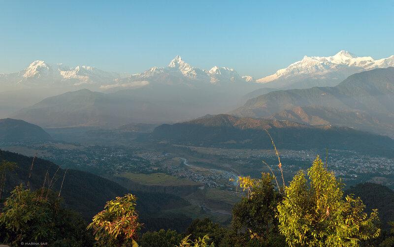 Вечер в Гималаях