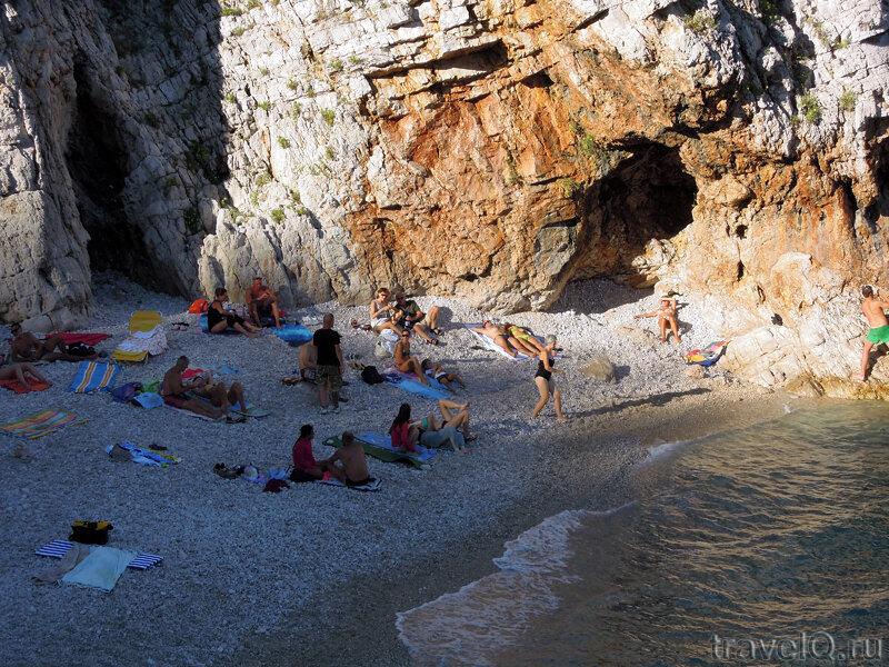 Пляж Брсеч Brsec