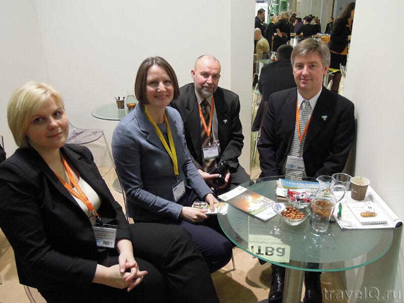 Встреча с директорами туристических центров Озерного Края Литвы