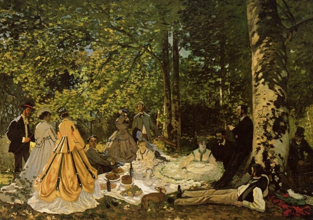 Luncheon on the Grass, 1865.jpeg