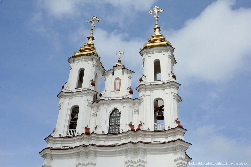 Церковь Воскрешения Христова на Рыночной площади. Витебск.