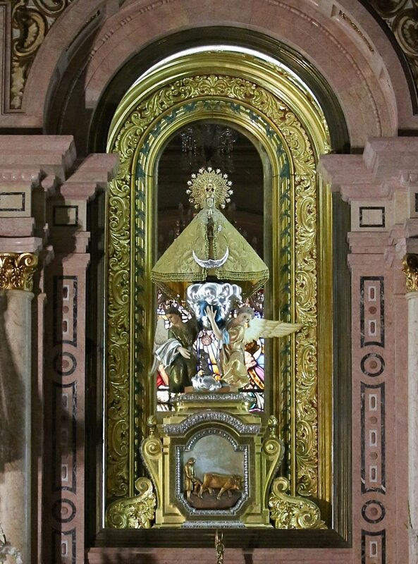 Basílica de la Mare de Déu del Lledó, Кастельон де ла Плана, базилика девы Льедо
