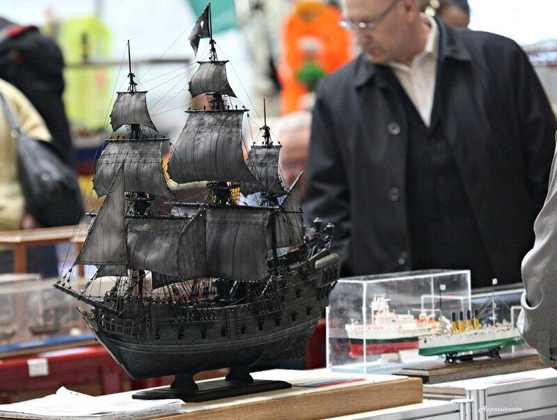 Модели судов на выствке Moscow Hobby Expo 2014