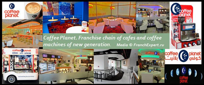 Франшиза Coffee Planet