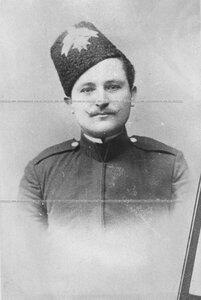 Портрет урядчика Лейб-гвардии казачего полка.