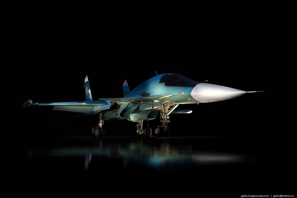 Как производят фронтовой бомбардировщик Су-34