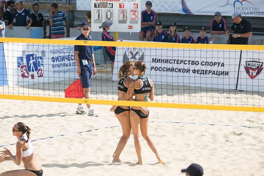 Анапа пляжный волейбол 2014