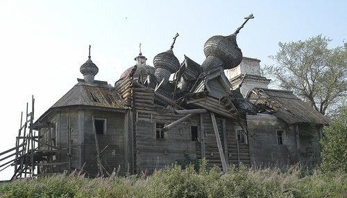 В поисках затерянных русских церквей (The Times, Великобритания)