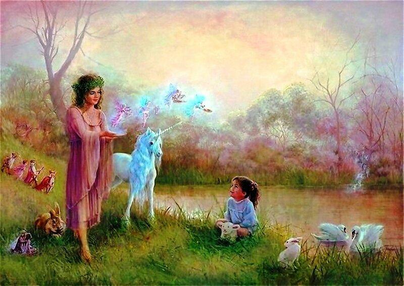 Художница Линн Лупетти. Мир сказки... (8).jpg