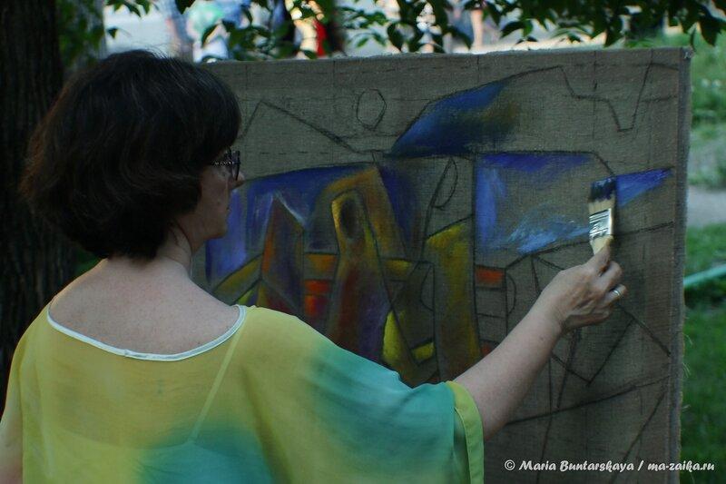 Ночь музеев, Радищевский музей, Саратовский монматр, 17 мая 2014 года