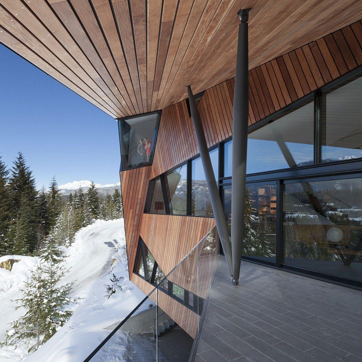 Patkau Architects, сложная архитектура зданий, выдающаяся архитектура фото, необычный частный дом, особняки в Канаде, дома в Британской Колумбии