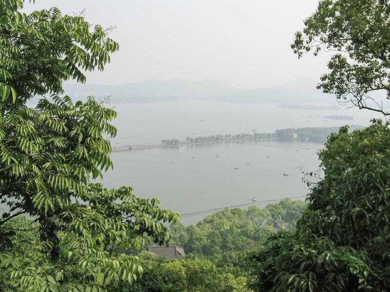 Дамба Байди на озере Сиху, Ханчжоу