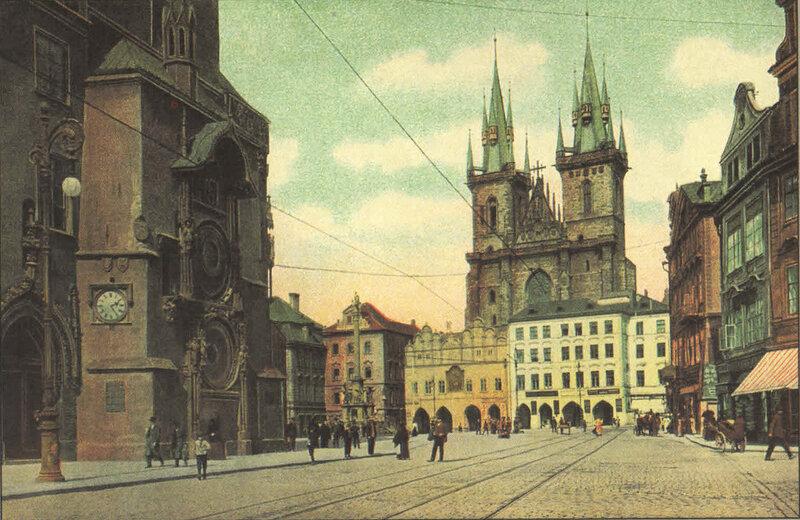 5. Староместская площадь. ~ 1900 год