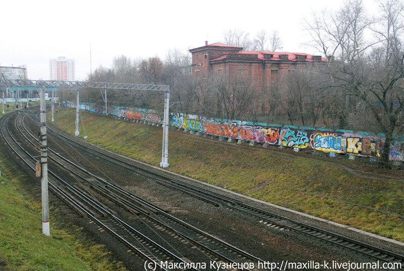 Железнодорожные граффити