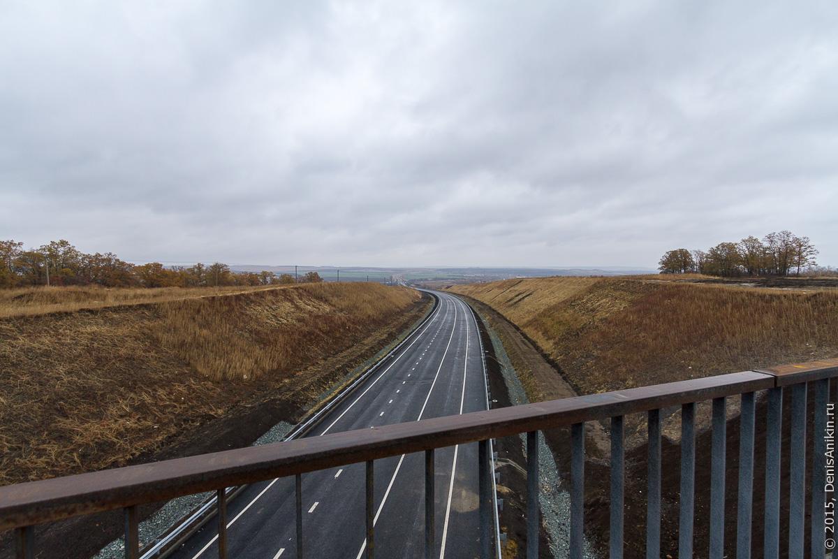 Строительство автодороги в обход Елшанки 5