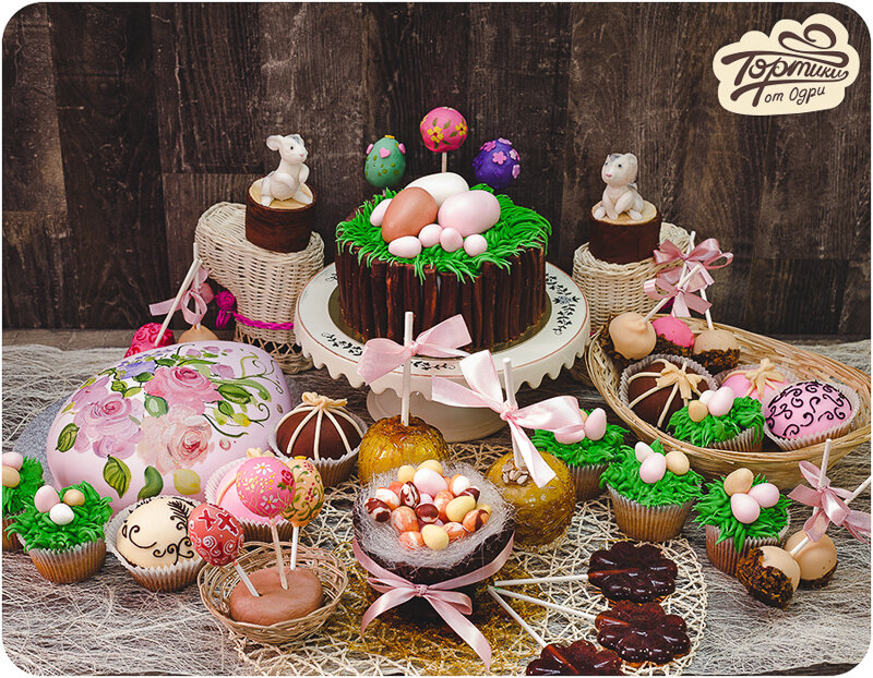 пасха сладкий стол москва