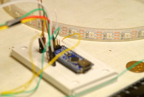 Arduino и лента с RGB светодиодами 5050